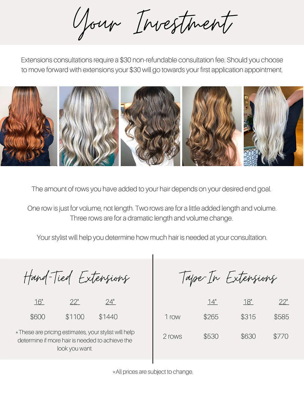 Extensions Investment