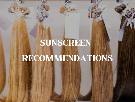 What you need to know about hair extensions + sunscreen