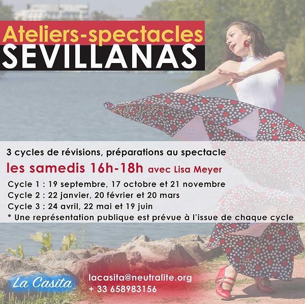 Flyer ateliers-spectacle sevillanas 2020