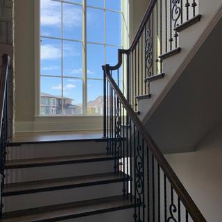 Clean Window/Stair case