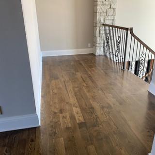 Clean Wooden Upstairs Floor