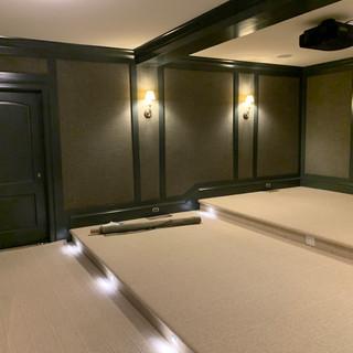 Classic Cleaned Media Room Carpet