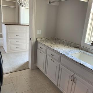 Clean Bathroom sink area