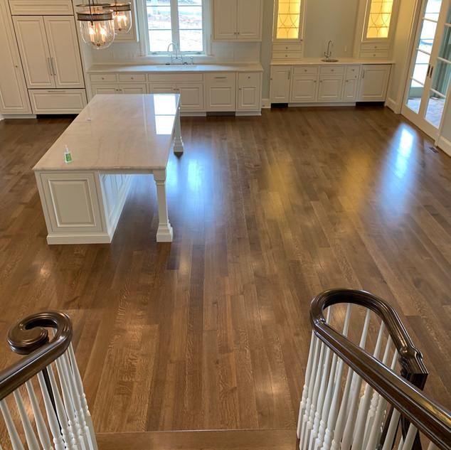 Cleaned Floor