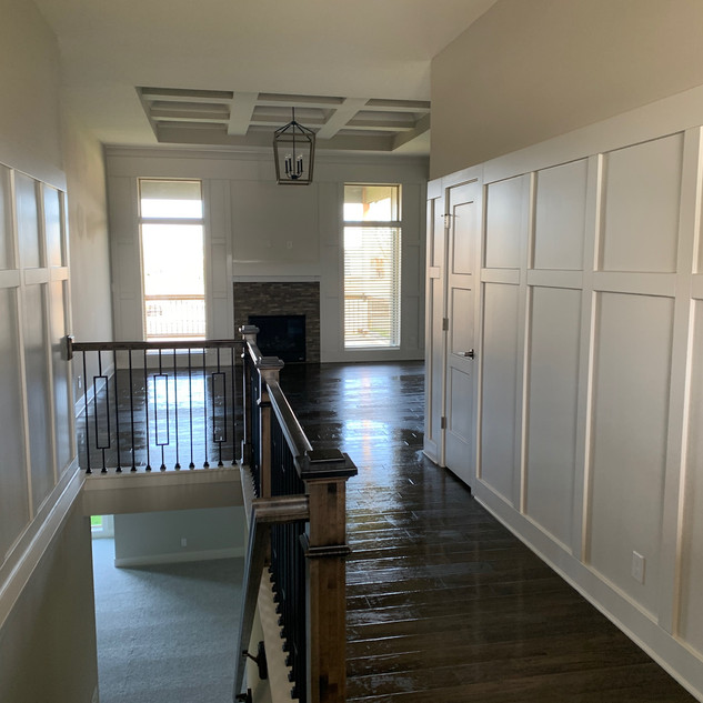 Clean Upstairs Hallway