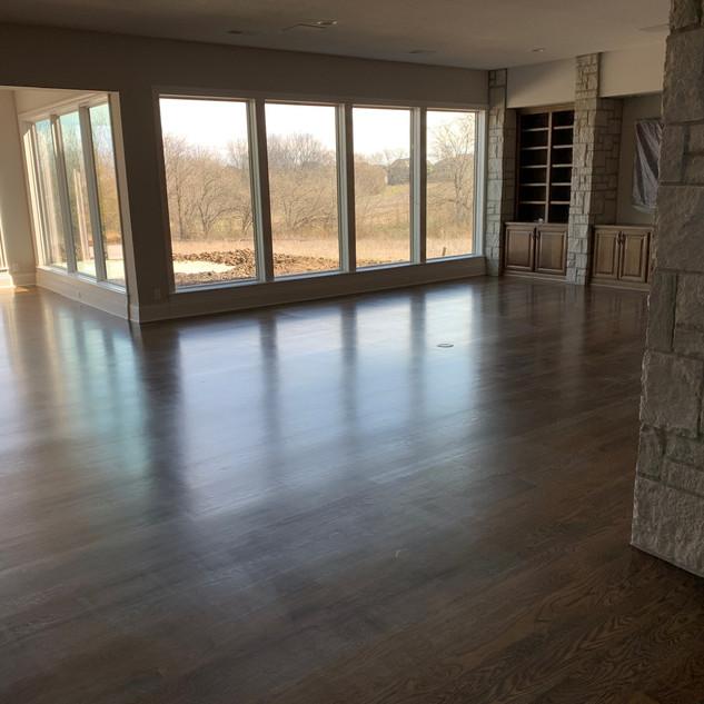 Clean Living Room Floor