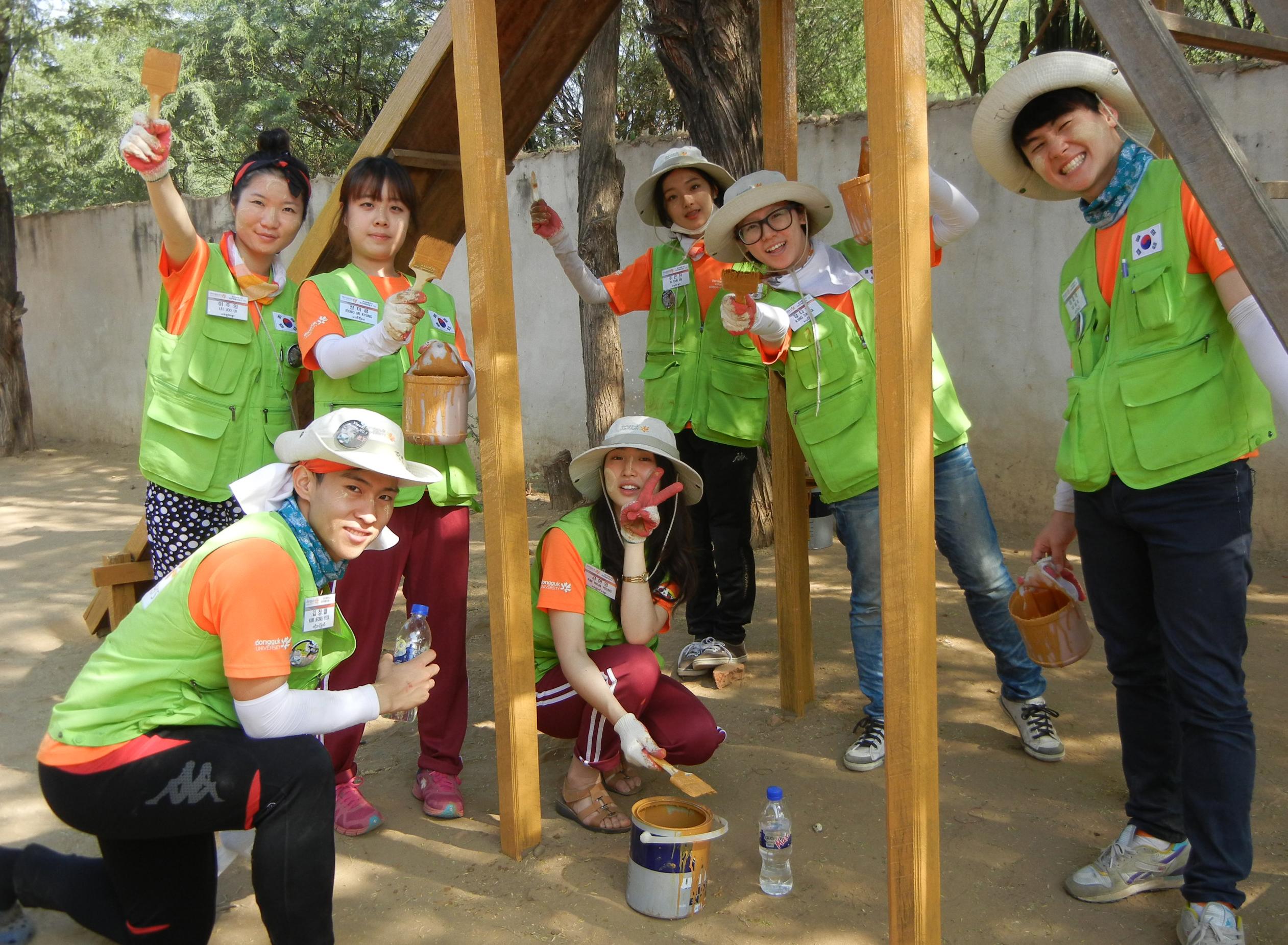 청년 해외봉사활동