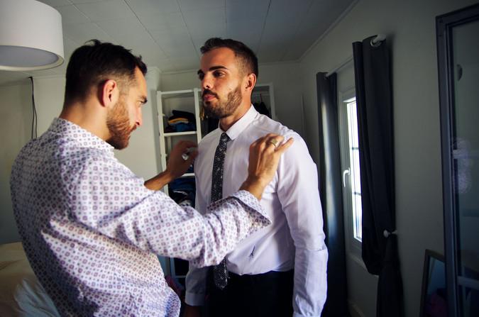 préparatifs du marié gironde