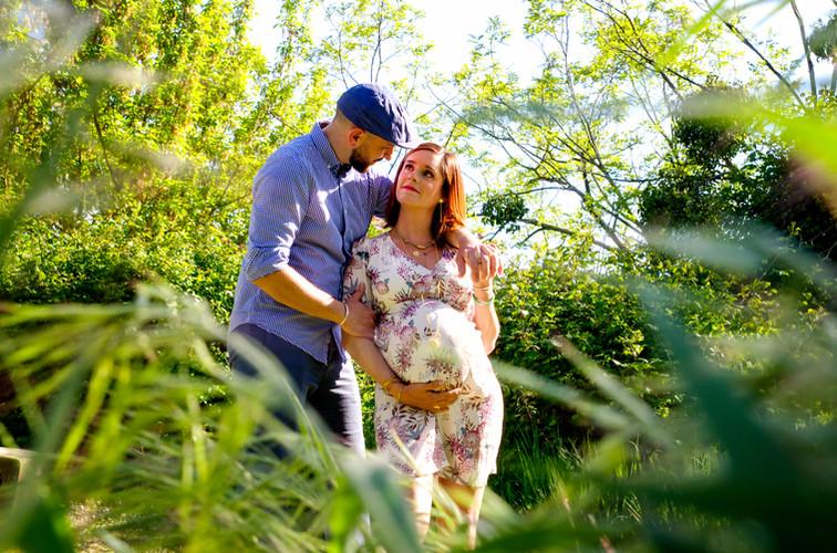séance photo de grossesse sur Bordeaux