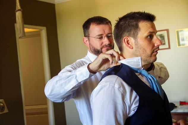 le costume de marié