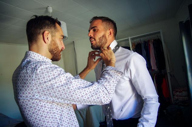 préparatifs du marié bordeaux