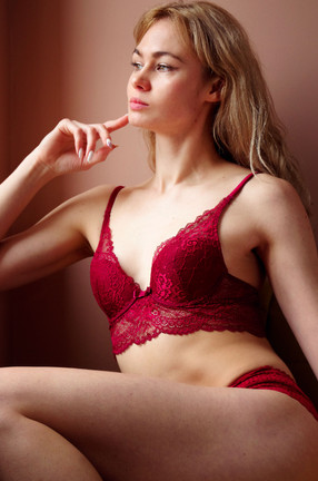 campagne publicitaire de lingerie