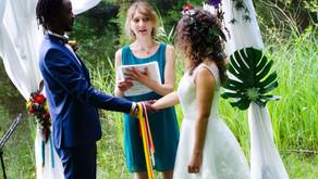 La cérémonie laïque en photo