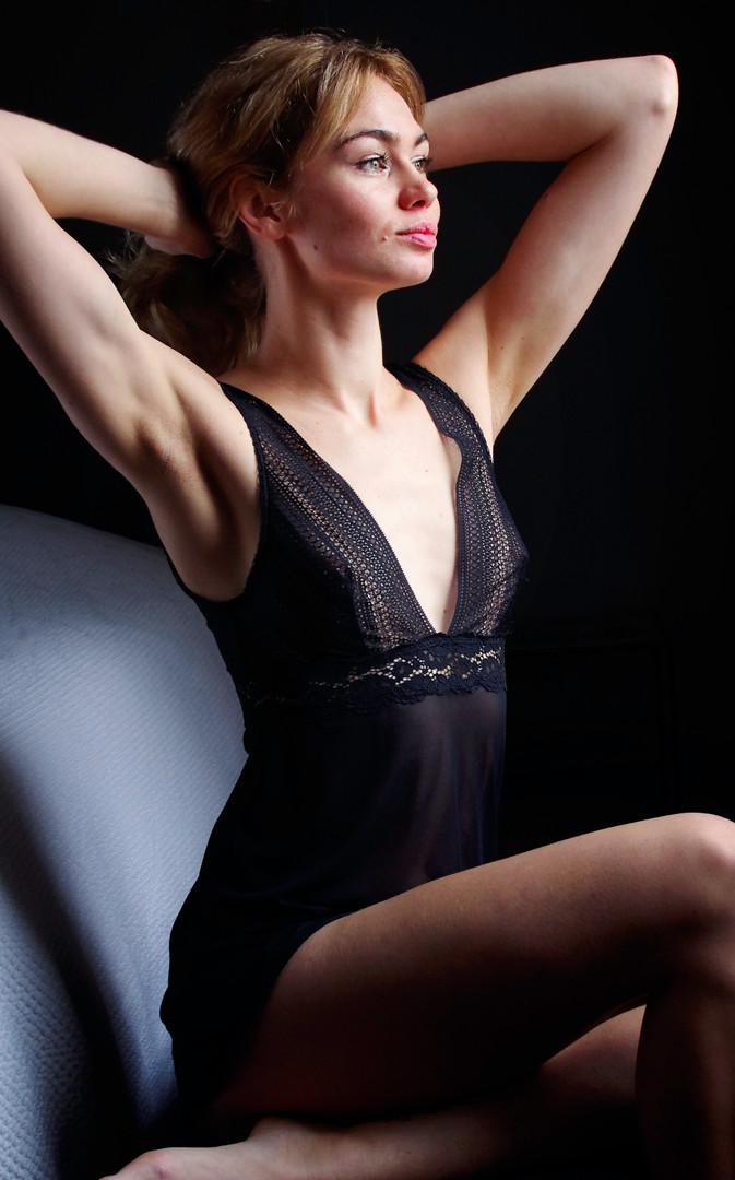 Shooting lingerie Bordeaux