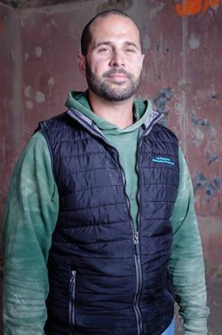 Portrait ouvrier chantier bordeaux