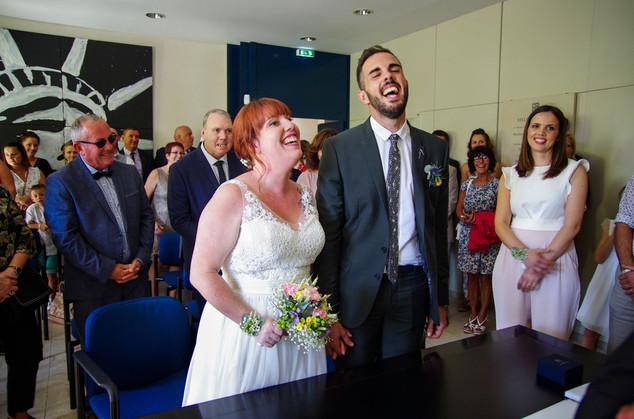 photo mariage civil gironde