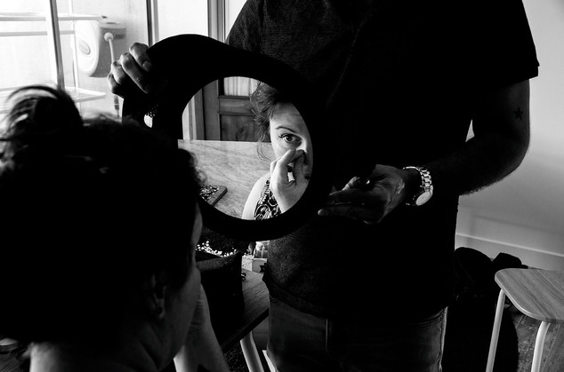 maquillage de la mariée blaye