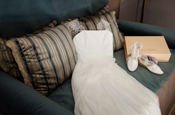 robe de  mariée médoc