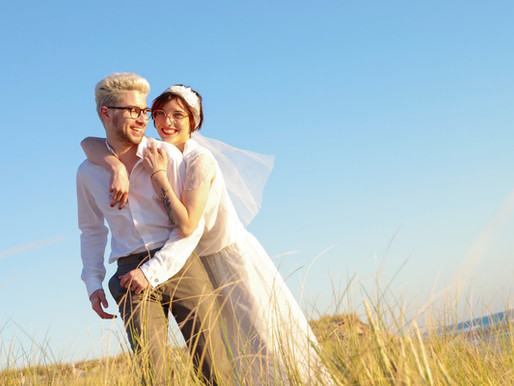 "Séance ""After Wedding"" à Lacanau"