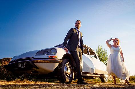 voiture de collection mariage