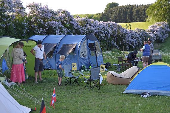 Camping området