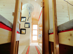 Glamping Pods, Cooling Fans