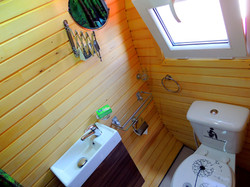 Glamping Pod, Luxury Design Bathroom