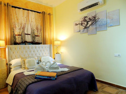 Bedroom 1: Luxury Double Bedroom With King Size Bed & Air Conditioning