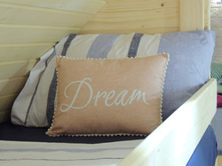 Glamping Pods, Comfortable bedding