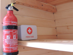Glamping Pods, First Aid