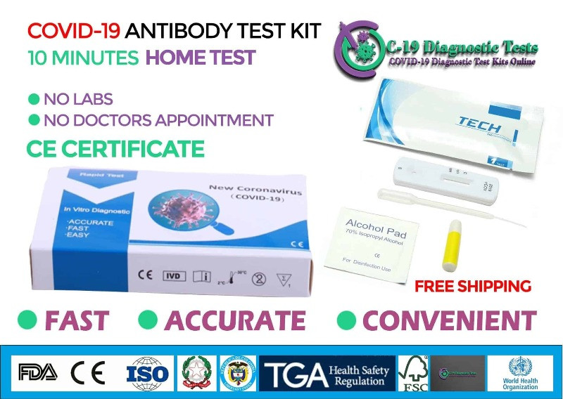 buy covid 19 home testing kits for coronavirus UK