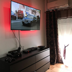 """55"""" WiFi Smart T.V, Blue Ray Player"""