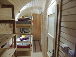 Glamping Pods, Front Bedroom