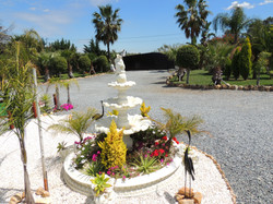 Fountain, Secure & Gated Entrance