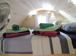 Glamping Pods, Queen Size Bed