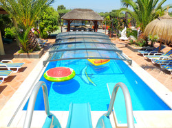 Luxury Telescopic Pool Enclosure