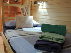 Glamping Pods, Comfortable Beds