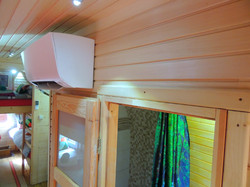 Glamping Pods, Air Conditioning, A.C
