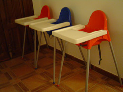 Infant / Toddler 3 High Chairs