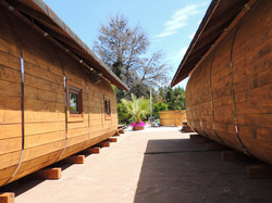 2 Luxury Glamping Pods, Log Cabins