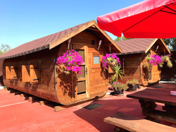 Luxury Glamping Pods, Log Cabins