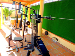 Selection of Fitness Gym Equipment