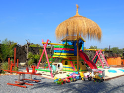 Play House, Sand Pit & Parasol
