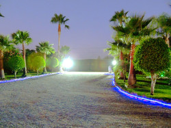 Private Drive With Gated Entrance