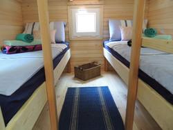 Glamping Pods, Back Bedroom