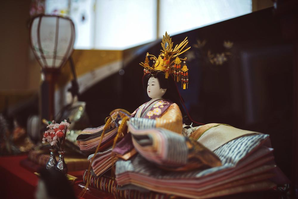 Bambola Geisha