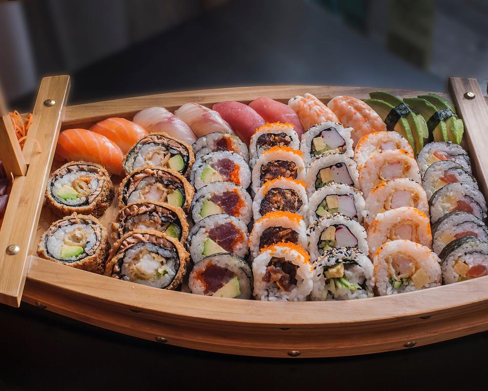 Barca di sushi