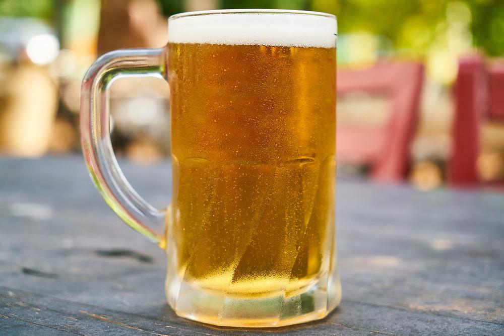 Calice di birra