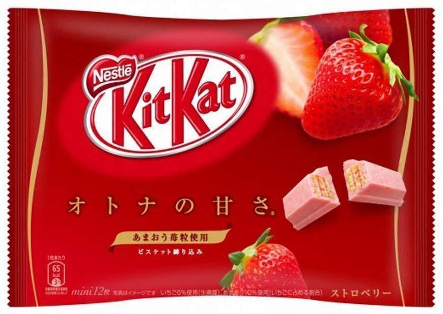Kitkat alla fragola