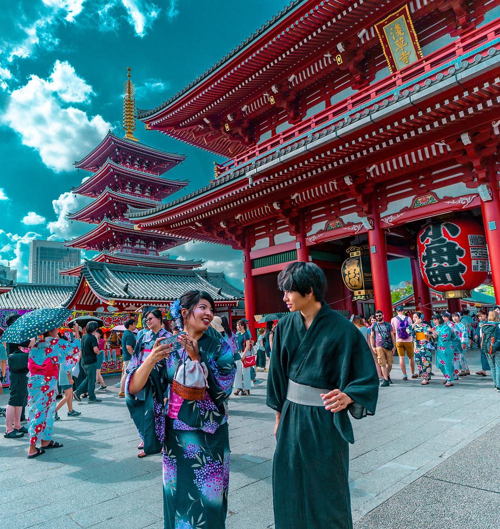 Templi di Asakusa (Tokyo), Senso-ji, Giappone